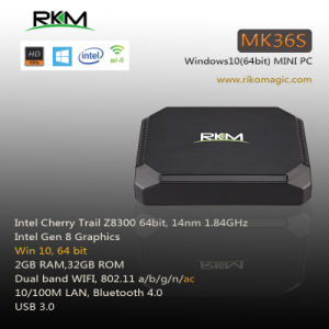 2GB RAM 32GB SSD TV Box Intel Z8300 Windows 10 Mini PC pictures & photos