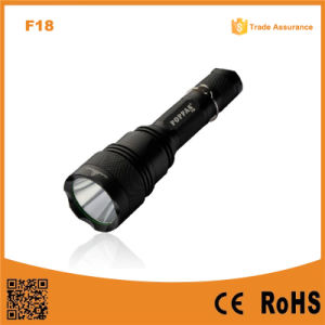 F18 High Power Best T6 Police Rechargeable Security Hunting Torch Light pictures & photos
