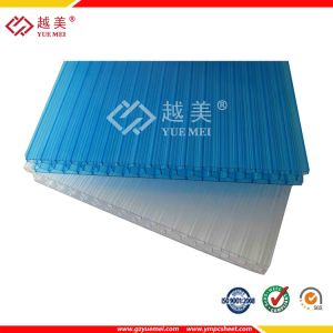 Polycarbonate Solid Hollow Corrugated Embossed PC Sheet for Green House pictures & photos