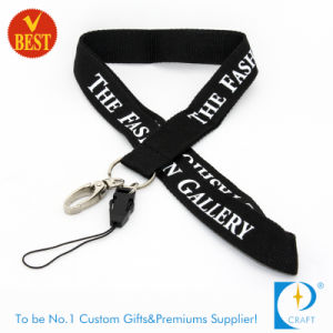China Custom Printed Polyester Sublimation Lanyard for Gift pictures & photos