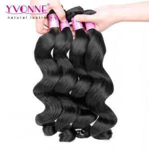 Fashion Loose Wave Brazilian Virgin Human Hair pictures & photos