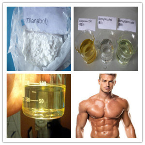 Muscle Building Oral Steroid Dianabol / Dbol/ Methandrostenolone CAS 72-63-9 pictures & photos