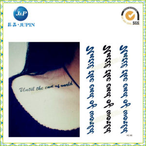 2016 Cheap Alphabet Tattoo Sticker, Letters Tattoo Sticker (JP-TS075) pictures & photos