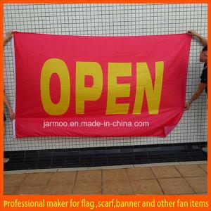 Custom Logo Print Custom Flag Banner pictures & photos