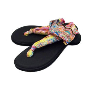 Latest Design Strap Ankled Elastic Sandals for Lady pictures & photos