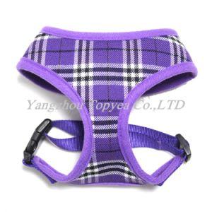 Plaid Pet Harness, Check Air Mesh Pet Dog Clothes pictures & photos