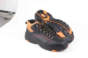 Geniune Leather Safety Boots Geniune Leather with Steel Toe and Steel Midsole pictures & photos