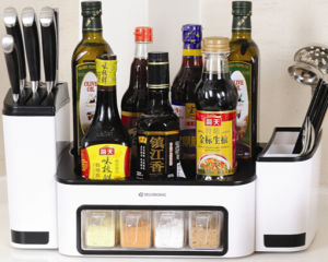 Multifunction Kitchen Storage Box for Condiment Dispenser pictures & photos