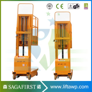 Aerial Pick up Cargo Truck Order Picker Lift Machine pictures & photos