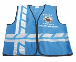 High Visibility Safety Vest with Blue Color pictures & photos