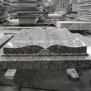 Own Factory European Book Style Granite Tombstone pictures & photos