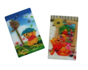 Custom Lovely Plastic 3D Sticker pictures & photos