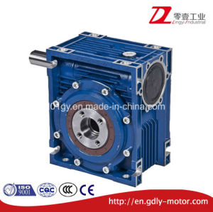Die Cast Aluminum Worm Gear Speed Reduce Gearbox with Shaft pictures & photos