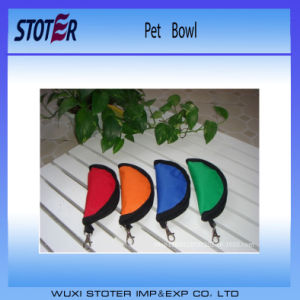 High Quality Waterproof Folding Portable Pet Bowl pictures & photos