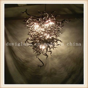 Brown Blown Glass Craft Chandelier Light for Decoration