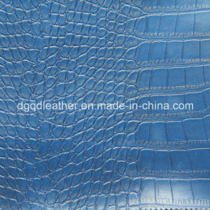 Good Aging Resistant Artificial Leathe Semi-PU Leather Qdl-50224 pictures & photos