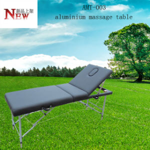 Light Weight Aluminium Massage Table Amt-003 with Adjustable Backrest pictures & photos