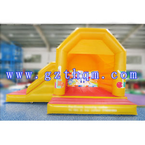 Inflatable Bouncy Castle with Slide/Inflatable Jumpingamazing Bouncy Castles pictures & photos