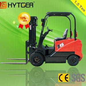 1500kgs 4-Wheel Mini Electric Forklift (CPD15FJ) pictures & photos