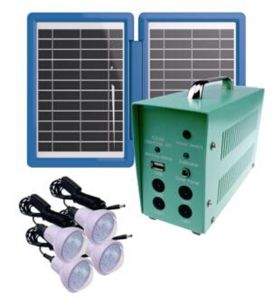 10W Four Lamps Solar Lighting Kits (SZYL-SLK-6010A) pictures & photos