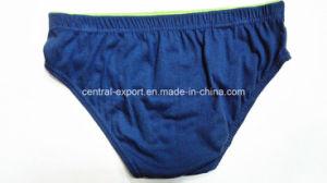 Logo Printed Tunnel Waistband New Style Boy Brief Underwear pictures & photos