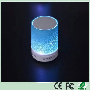 2016 New Products LED Portable Subwoofer Bluetooth Speaker (BS-07) pictures & photos