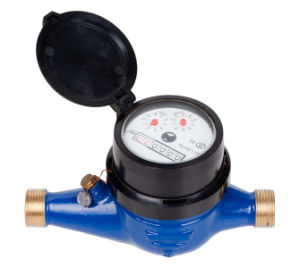 "Multi Jet Brass Water Meter (1/2"" to 3/4"") pictures & photos"