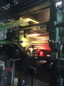 PVC Leather Sheet Production Line Calender pictures & photos