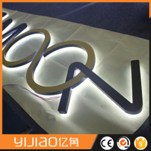 Laser Engraving Acrylic LED Sign pictures & photos