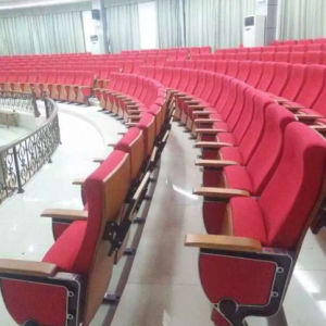 Auditorium Seat, Conference Hall Chairs Push Back Auditorium Chair Plastic Auditorium Seat Auditorium Seating Church Chair (R-6161) pictures & photos