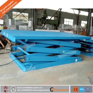 Stationary Hydraulic Scissor Lift Table for Special Use, Lifting Stage, Autorotation Lifting Platforms pictures & photos