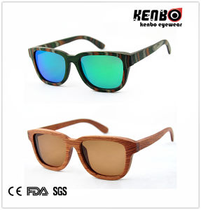 Hot Sale Fashion Wooden Sunglasses (Optical frame) CE. FDA. Kw022 pictures & photos