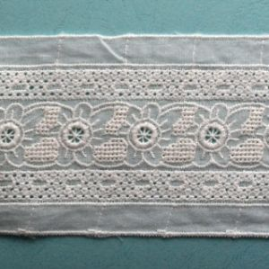 Hot Sell White Embroidery Trim Lace pictures & photos