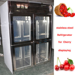 4 Doors Stainless Steel Refrigerator 1300 Liters pictures & photos