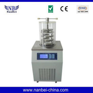 Vertical Type Laboratory Food Freeze Drying Machine pictures & photos