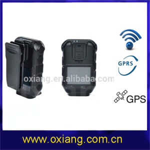 1920*1080@30fps Wide-Angle Lens Surveillance Police Body Worn CCTV Monitoring Camera with GPRS GPS (OX-ZP610) pictures & photos
