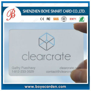Nice Printing Clear Business Card pictures & photos