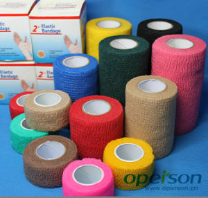 Self Adhesive Bandage with Various Colors pictures & photos