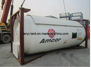 20FT 25000L High Strength Carbon LPG Tank Container at Reasonble Price pictures & photos