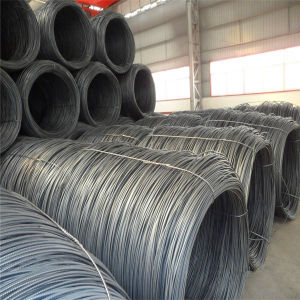 Q195 Grade Hot Rolled Carbon Mild Steel Wire Rod pictures & photos