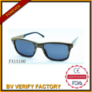 Alibaba Express Handmade Wooden Sunglasses (FX15100) pictures & photos