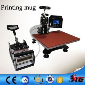 CE Certificate Combo Swing Arm Heat Press Transfer Machine pictures & photos