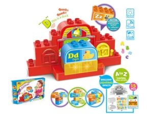 Kid Learning Table DIY Building Block Educational Toy (H5931104) pictures & photos