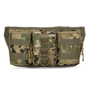 Anbison-Sports New Multi-Function Tactical Pockets Riding Waist Bag pictures & photos