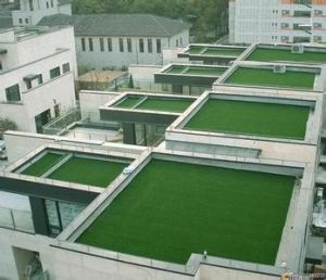 Customized Nature Look Artificial Grass, Could Be for Roof pictures & photos