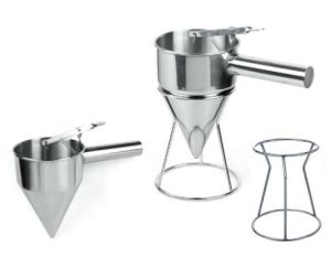 Conical Stainless Steel Funnel with Stand (162026&162026F) pictures & photos
