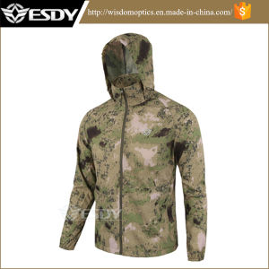 SGS Standards Outdoor Tactical Thin Jackets Coat for Hiking & Camping pictures & photos