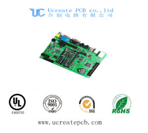 HASL PCB for USB Keyboard with Green Solder Mask pictures & photos