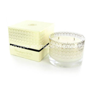 Home Decor Scented Frosted Glass Candle pictures & photos