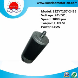 24VDC 1.1n. M 345W 3000rpm DC Motor pictures & photos